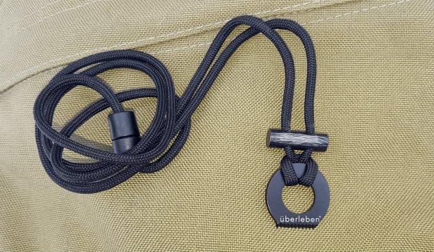 ferro rod necklace