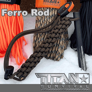 titan survival ferro rod