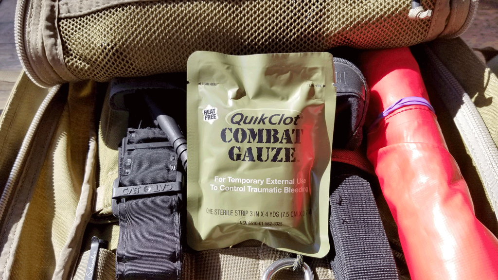 Do You Keep A Combat Casualty Kit In Your Go Bag?