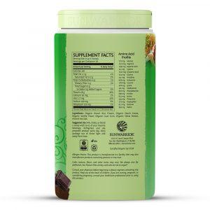 sunwarrior protein ingredients